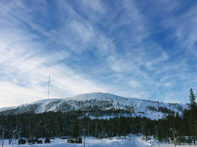 5-day Finland itinerary Northern Lights - Pyha ski resort