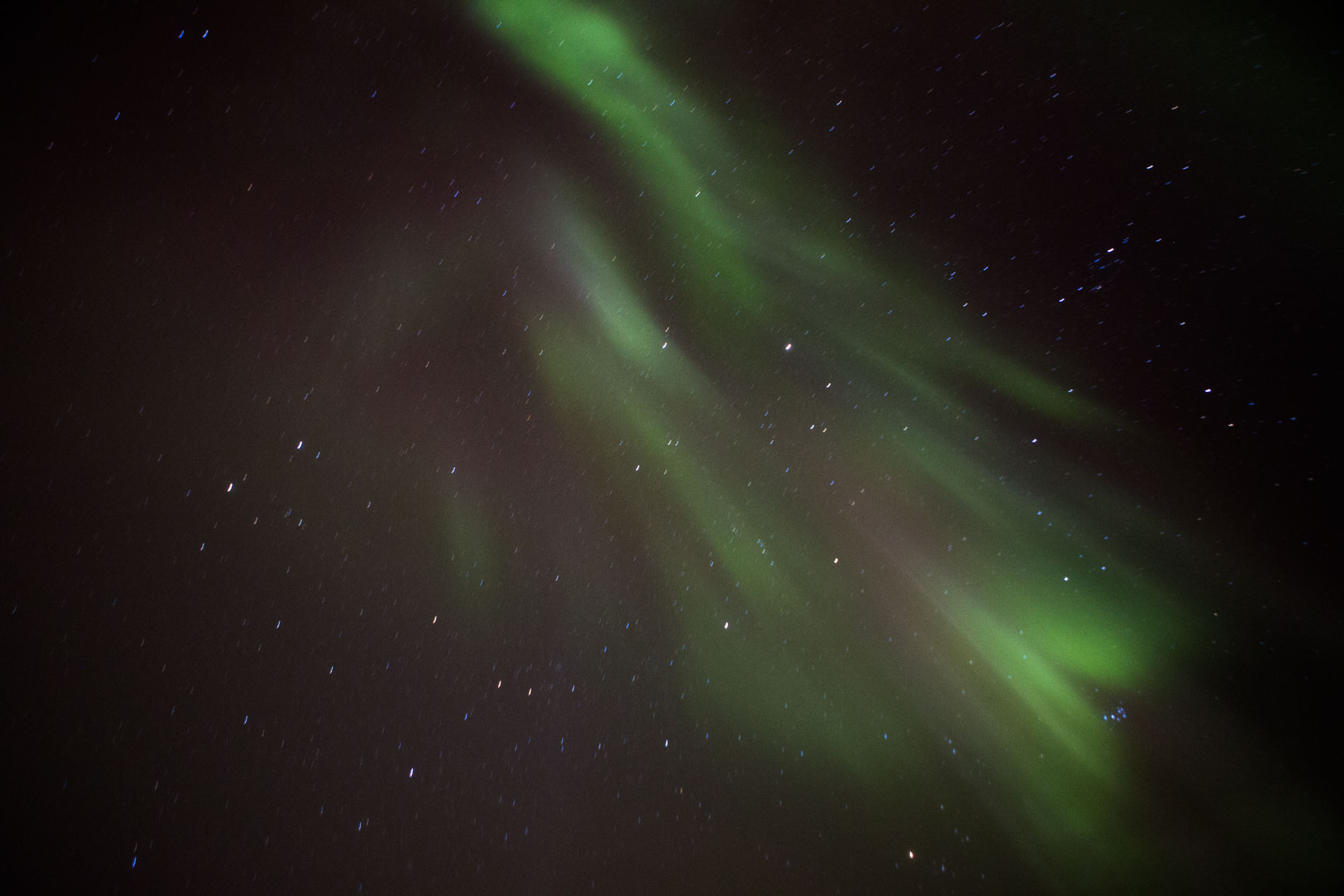 The Northern Lights in Luosto, Finland