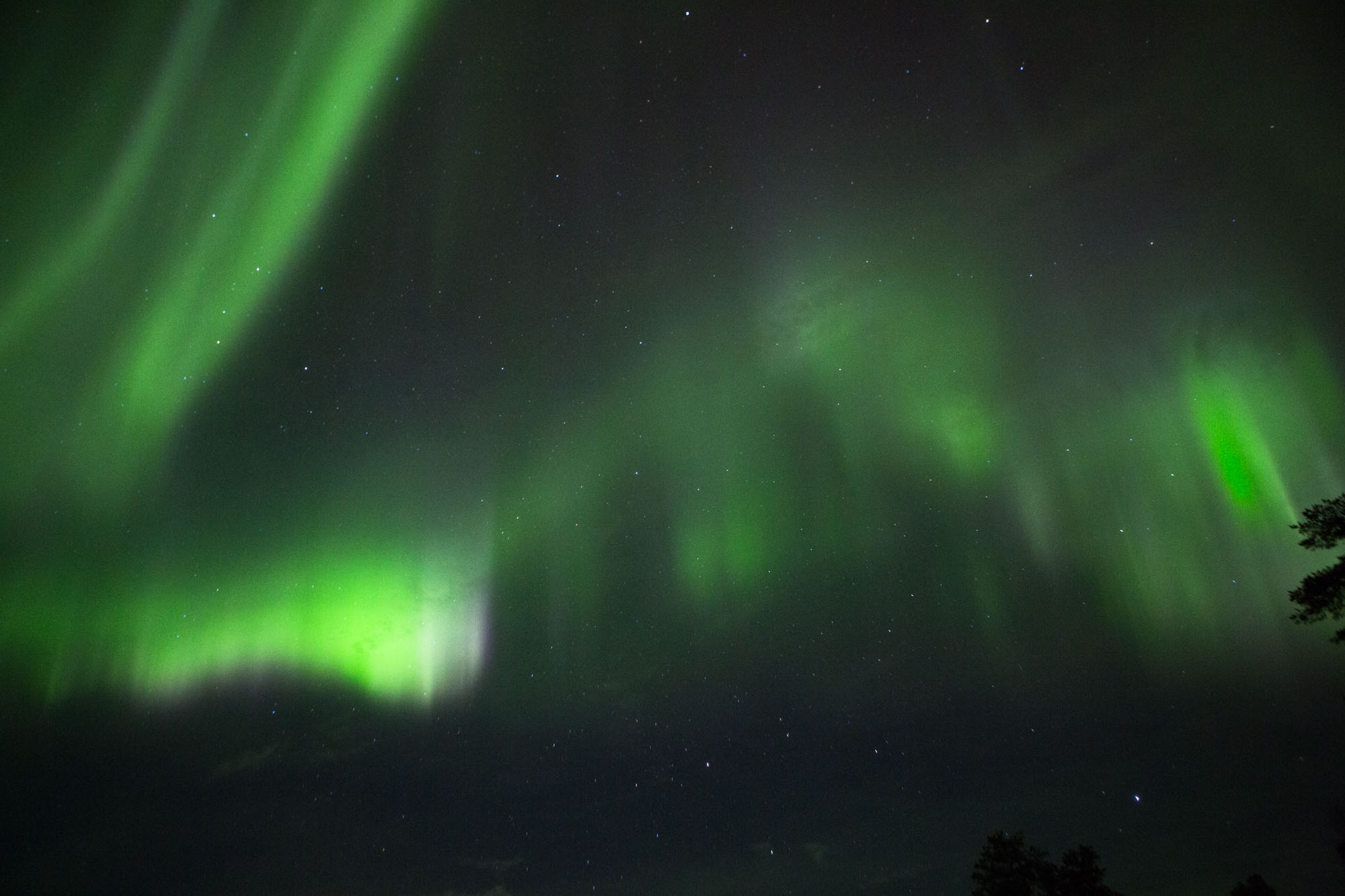 Northern Lights Lapland Finland Luosto