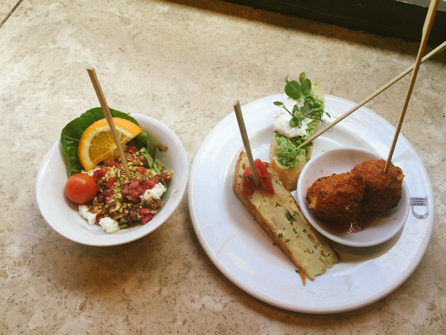 Around the world in 7 London meals – Pix