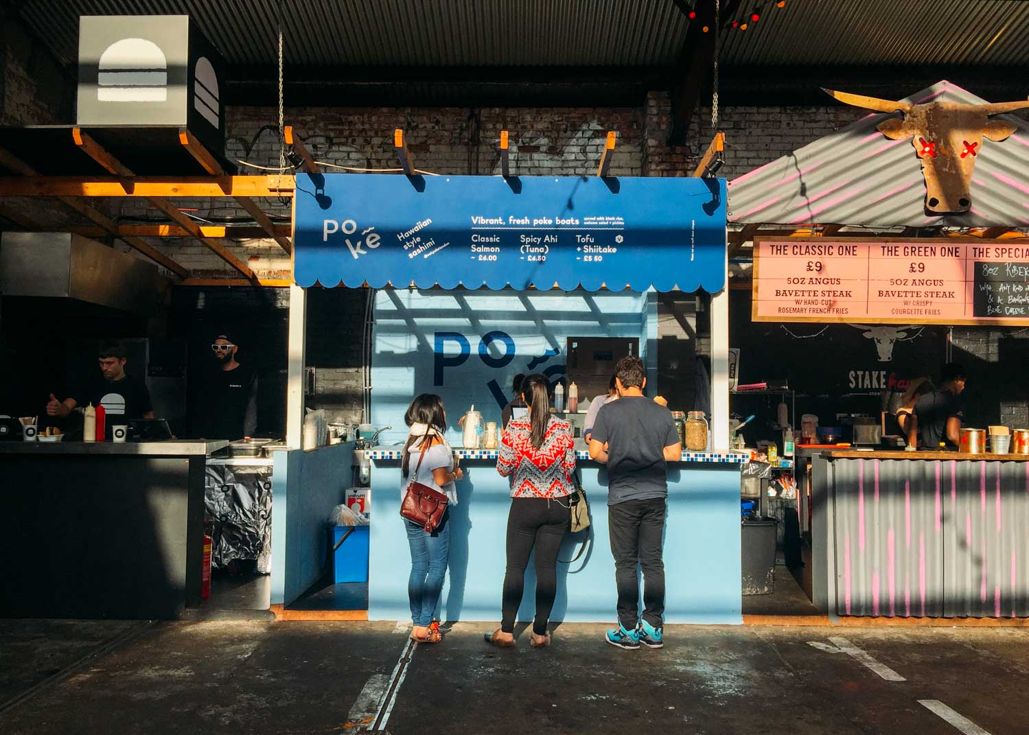 Around the world in 7 London meals – Poke at Street Feast