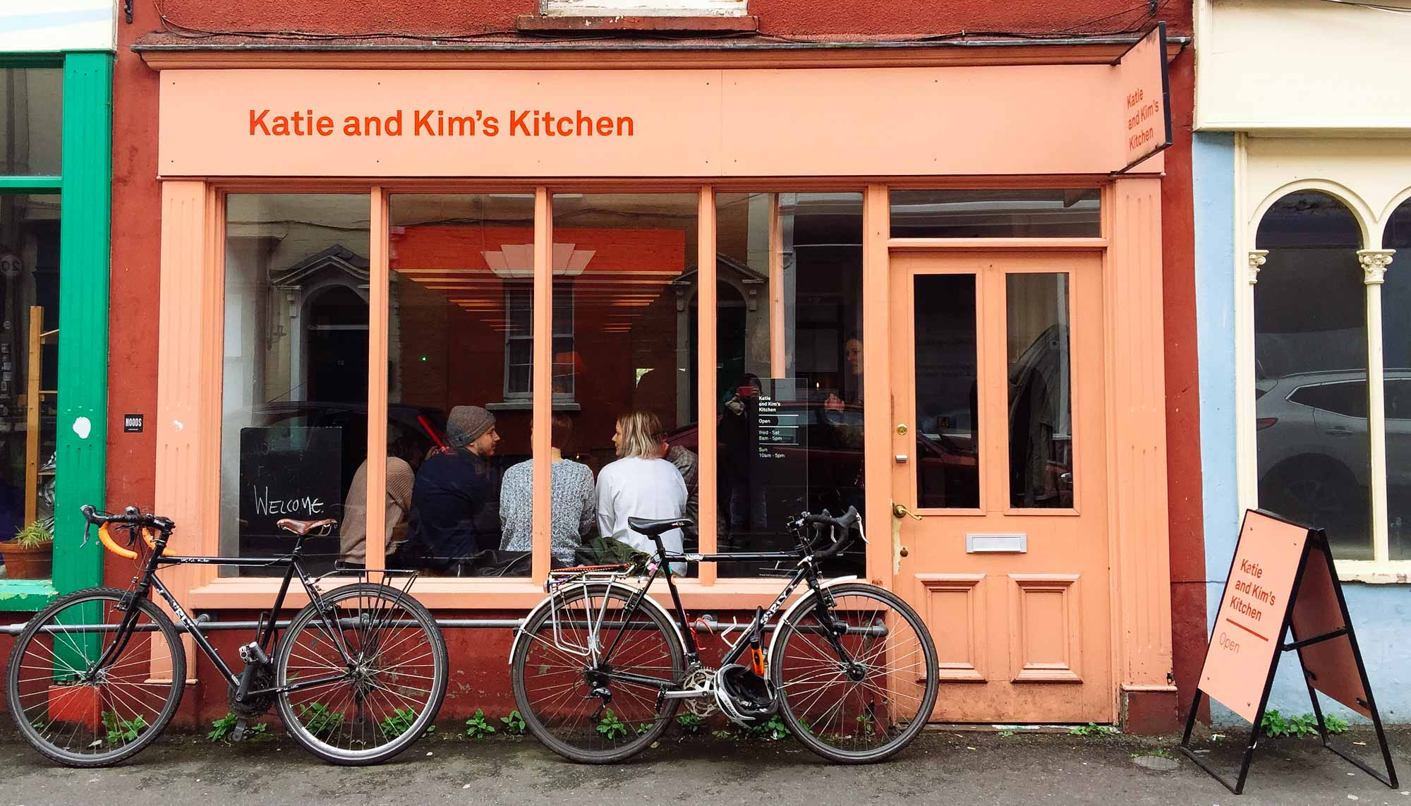 Things to do in Bristol - Katie and Kims Kitchen, Picton Street, Montpelier