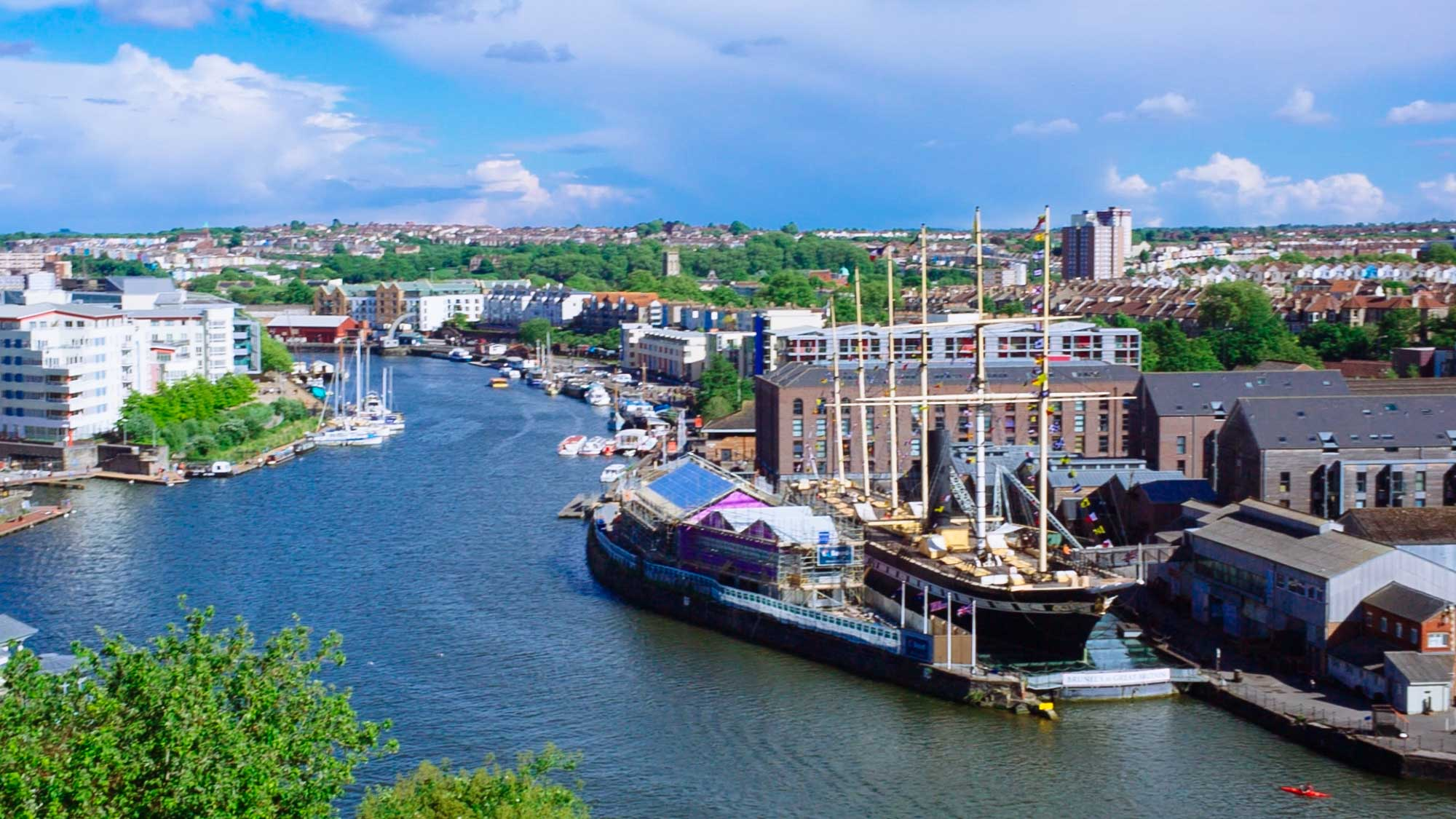 Things to do in Bristol - Visit the harbourside