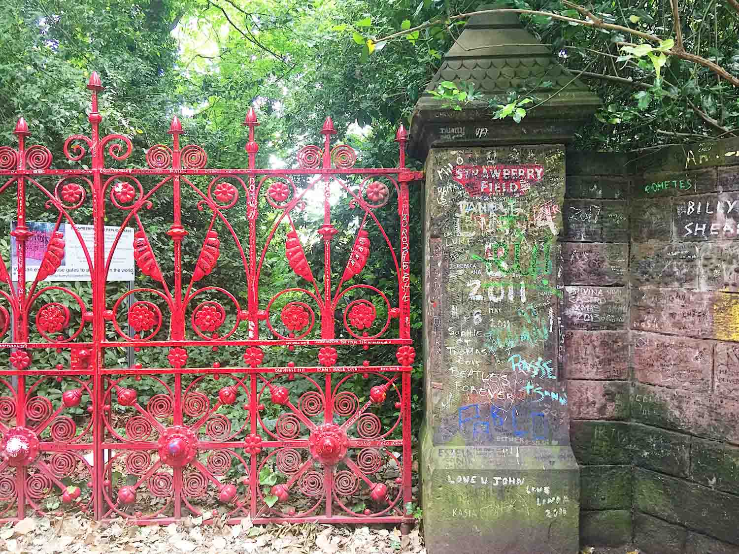 Best things to do in Liverpool - Strawberry Fields