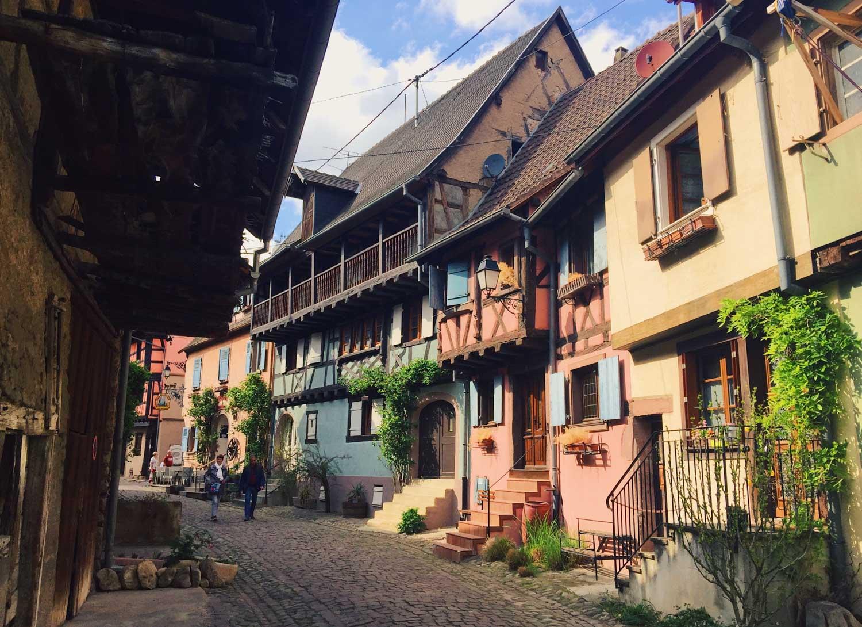 Eguisheim, France – Real-life fairytale village