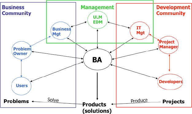 Understanding the role of a business analyst and a project manager using a simple analogy