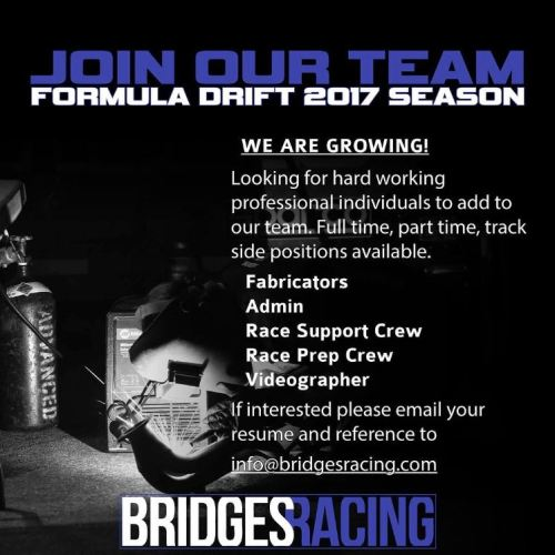 Join Bridges Racing Team