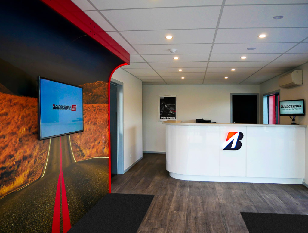 Bridgestone Wanaka Reception