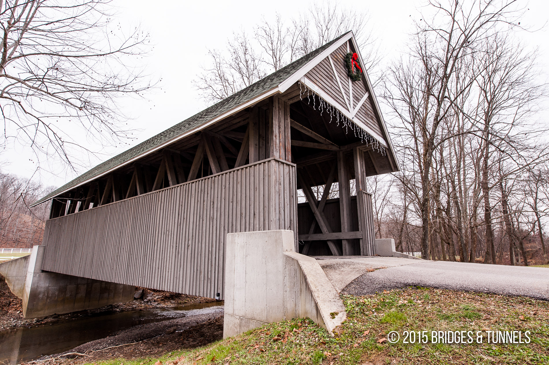 Wooded Glen Resort Covered Bridge