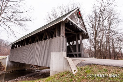 Wooded Glen Resort Covered Bridge
