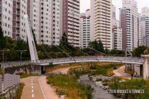 Danghyun-cheon Pedestrian Bridge
