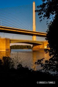 Craig Memorial Bridge (OH 65), Veterans Glass City Skyway (Interstate 280)