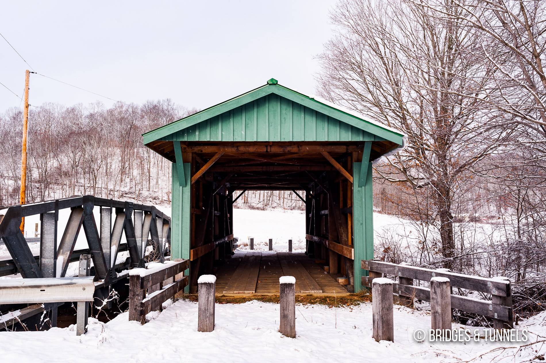 Mt. Olive Road Covered Bridge