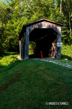 Milton Dye Saw Mill Covered Bridge