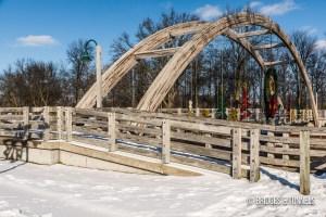 Au Gres Pedestrian Bridge