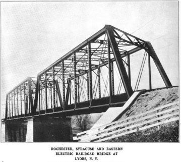 Lyons Bridge (Rochester, Syracuse & Eastern Rapid Railroad)