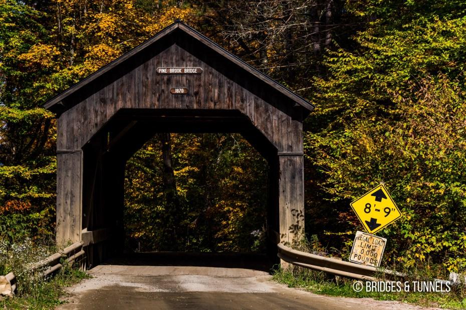 Pine Brook Covered Bridge