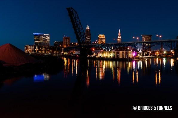 Baltimore & Ohio Railroad (B&O) Bridge No. 464 and Main Avenue Bridge