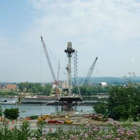 U.S. Grant Bridge Construction