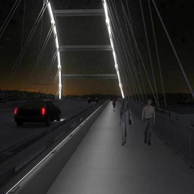 Eggner's Ferry Bridge Rendering