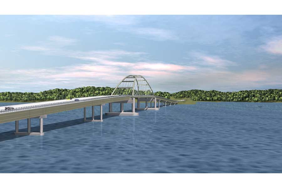 Eggner's Ferry Bridge Rendering