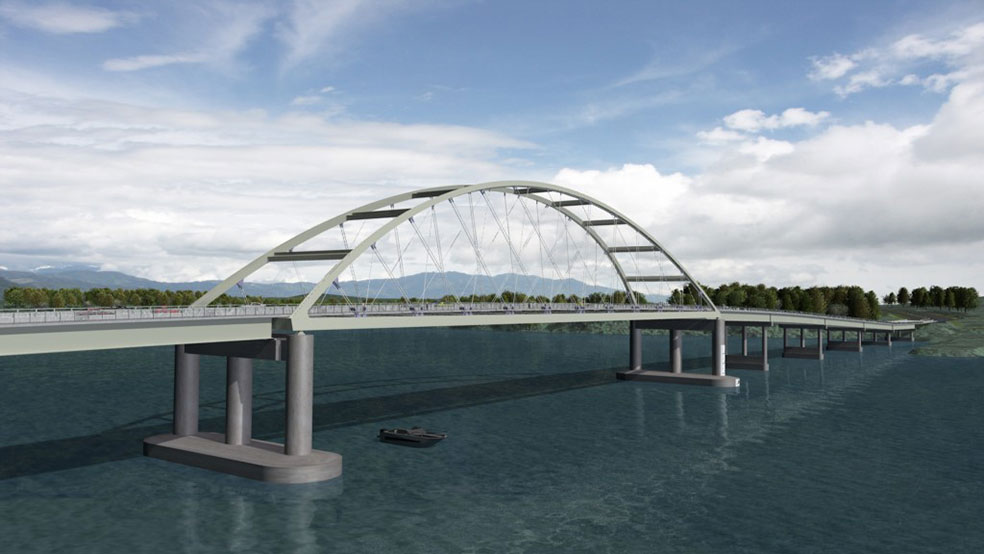 Lake Barkley Bridge Rendering
