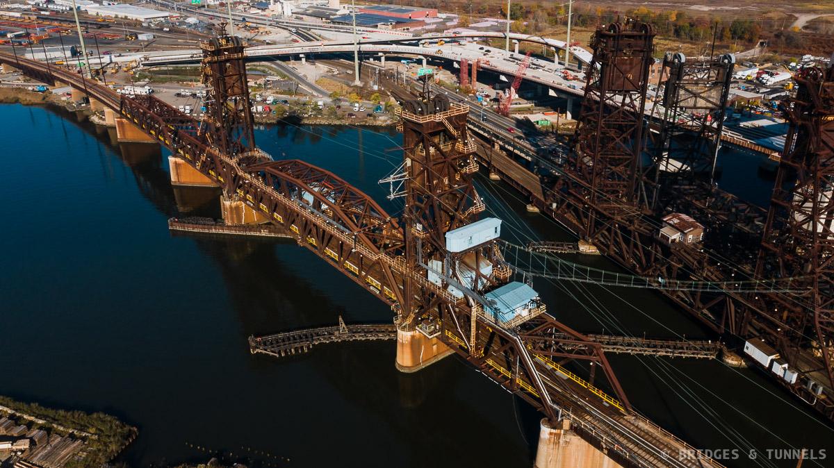 Hackensack River PATH Bridge