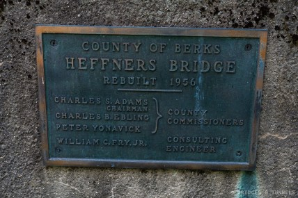 Heffners Bridge Plaque