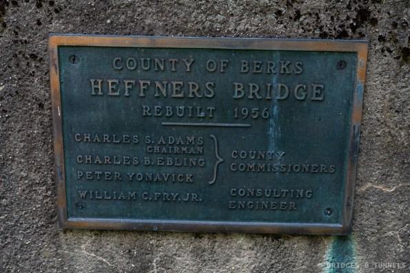 Heffners Bridge Plaque