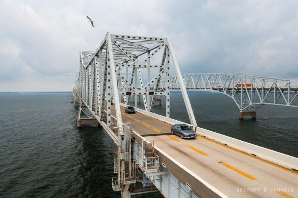 Chesapeake Bay Bridge c. 1952 Eastern Channel Crossing