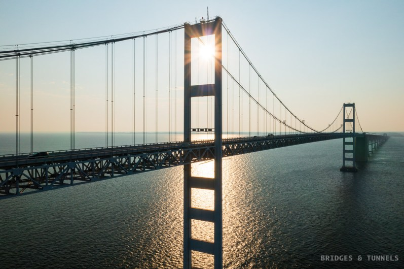 Chesapeake Bay Bridge c. 1973 Western Channel Span