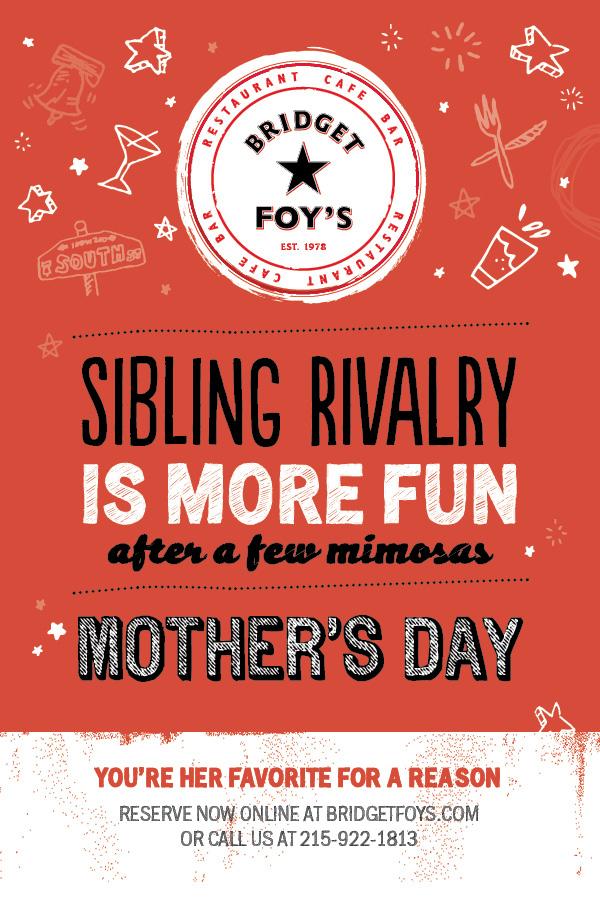 Philadelphia Mother's Day | Bridget Foys
