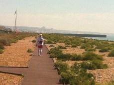 Lovely walk along the beach