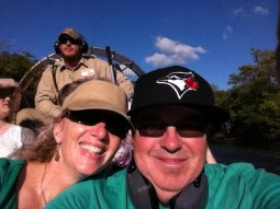 On the air boat