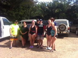 The clan before the tubing