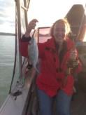 Debbie's first snapper