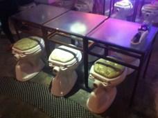 T Bowl restaurant seats