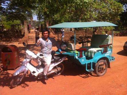 Get a great Tuk Tuk driver