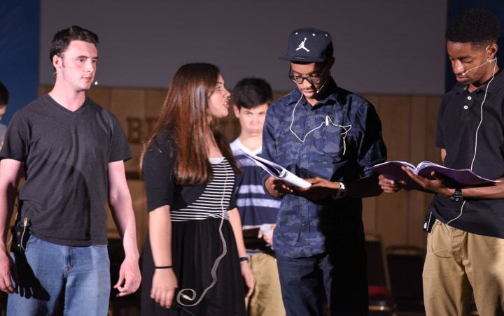 Pilgrim Rehearsal 30