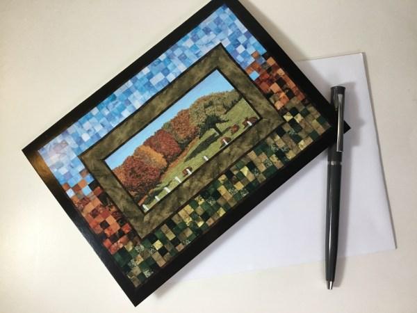 ArtCard Autumn Farm by Bridget O'Flaherty