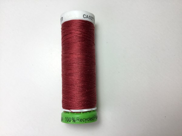rPet sewing thread colour 46 recycled content thread spool