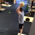 ball slam Bridgetown Barbell CrossFit WOD