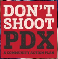 Don't Shoot PDX logo