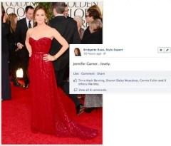 Jennifer Garner 2013 Golden Globes
