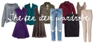 Ten Item Wardrobe