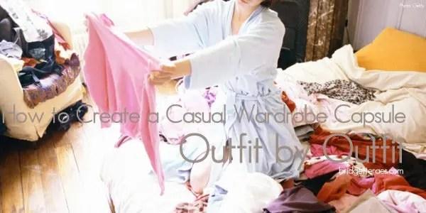 casual wardrobe capsule