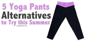 yoga pants alternatives