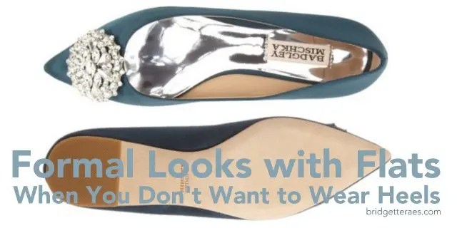 Formal Looks with Flats When You Don\'t Want to Wear Heels ...