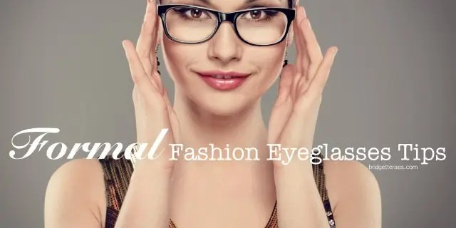 formal fashion eyeglasses