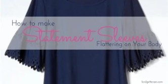 Statement Sleeves